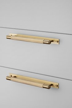 Buster & Punch hardware_cabin pull_plate_brass