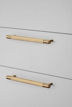 Buster & Punch hardware_cabin pull_plate_ brass
