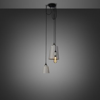 HOOKED 3.0 mix steel & stone with buster bulb gold ON